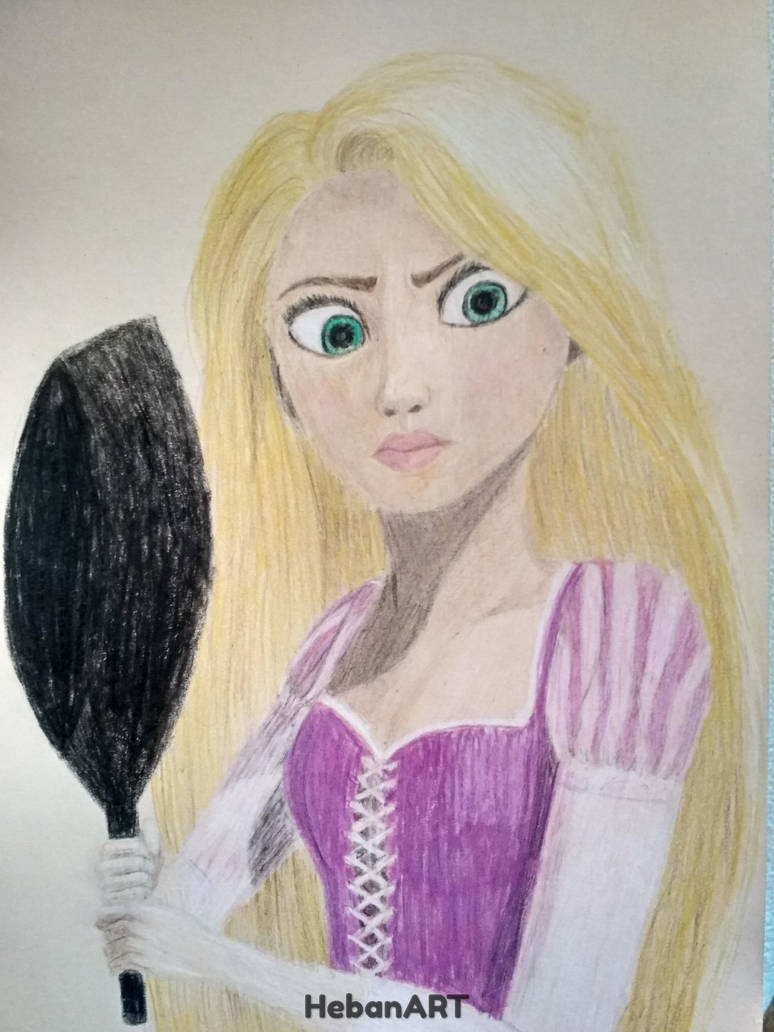 Rapunzel by HebanART