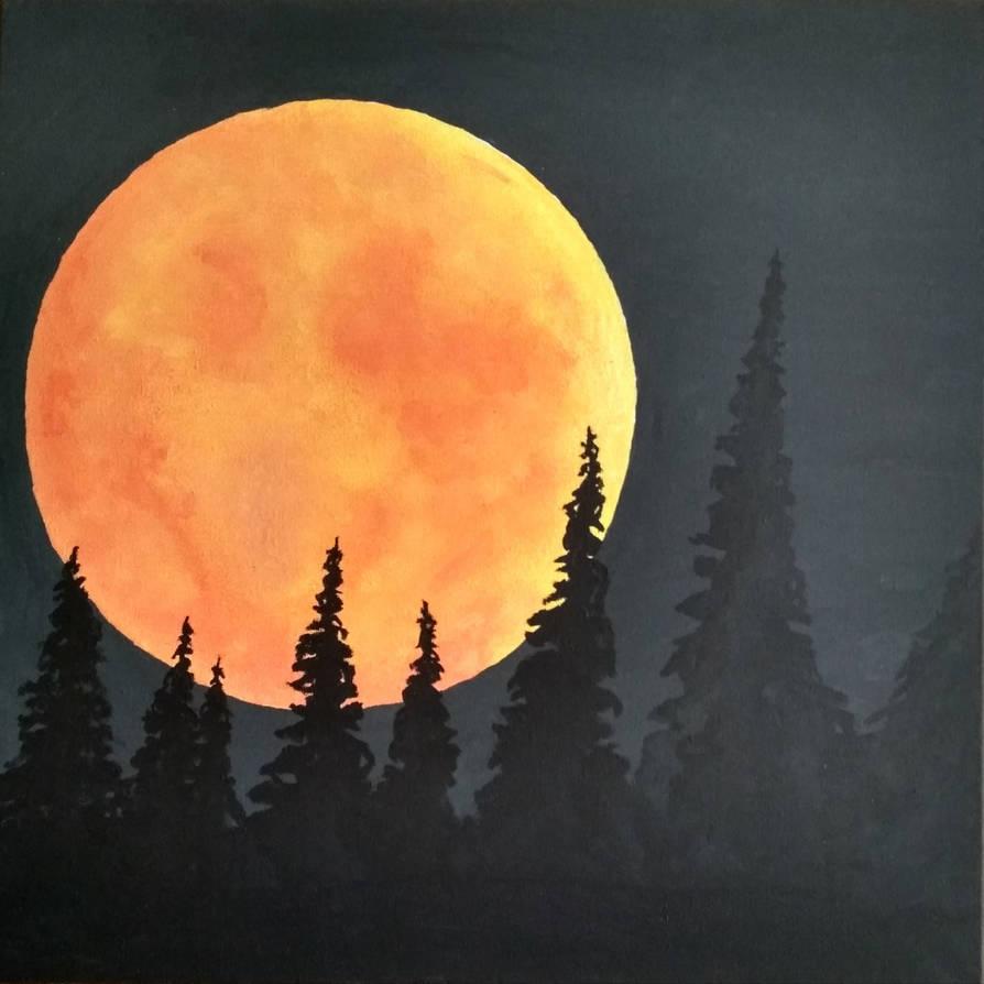 Moon by HebanART