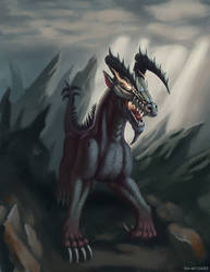 Dark Dragon by the-art-junky