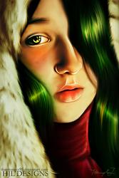 Lady Christmas by ts95studios