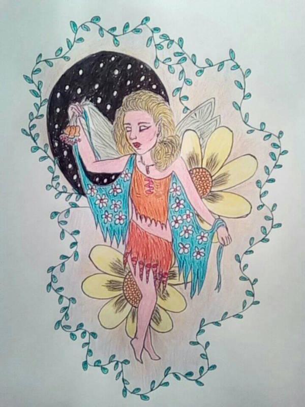 Fairy Dylia by anasofiajc