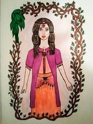 Milha the gipsy woman by anasofiajc