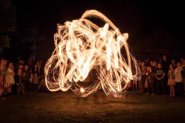 Fire Twirler by snaphappy7530