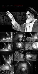 Imam Khomeini 2 by SAEED-ART