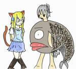 Stitches - Fish by fluffnight