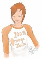 Orange Boy by fluffnight