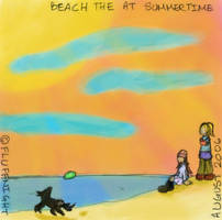CD cover - Summertime by fluffnight