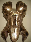 Gold corset by KasiaKonieczka