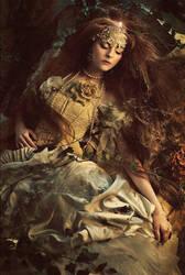 white gown by KasiaKonieczka
