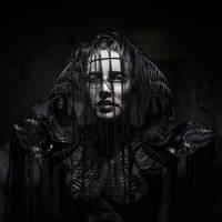 Black corset by KasiaKonieczka