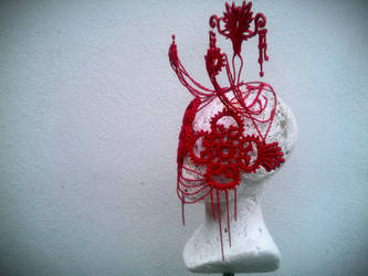 Exotic mask and headpiece by KasiaKonieczka