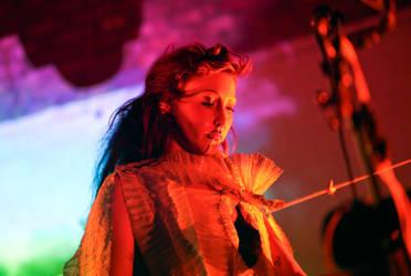 Cocorosie stage costumes by KasiaKonieczka