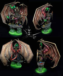 Lord Of Contagion - Demon Prince Combination by MyVisionArt
