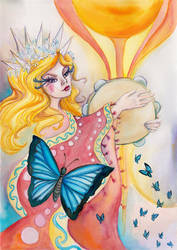 The Empress by amberfishy