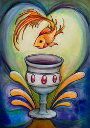 Ace of Cups by amberfishy
