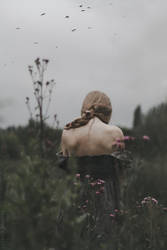 Melancholy Thistle by NataliaDrepina