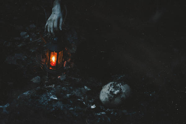 Deadly embrace of a cold, gloomy grave by NataliaDrepina