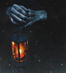 Dull light at bleak night by NataliaDrepina