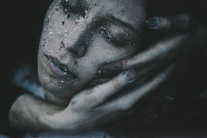 Her troubled dreams turned into snowflakes by NataliaDrepina