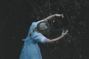 Sleepwalker dancing with trees by NataliaDrepina