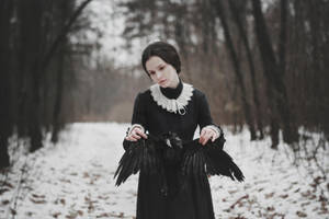 The bird's heart fell silent. by NataliaDrepina