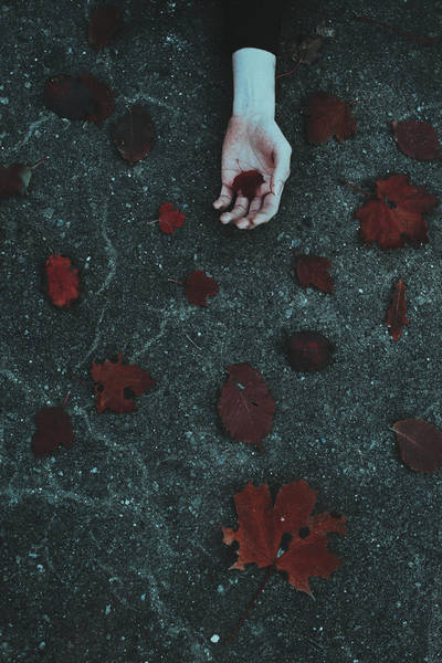 Scarlet autumn wounds by NataliaDrepina
