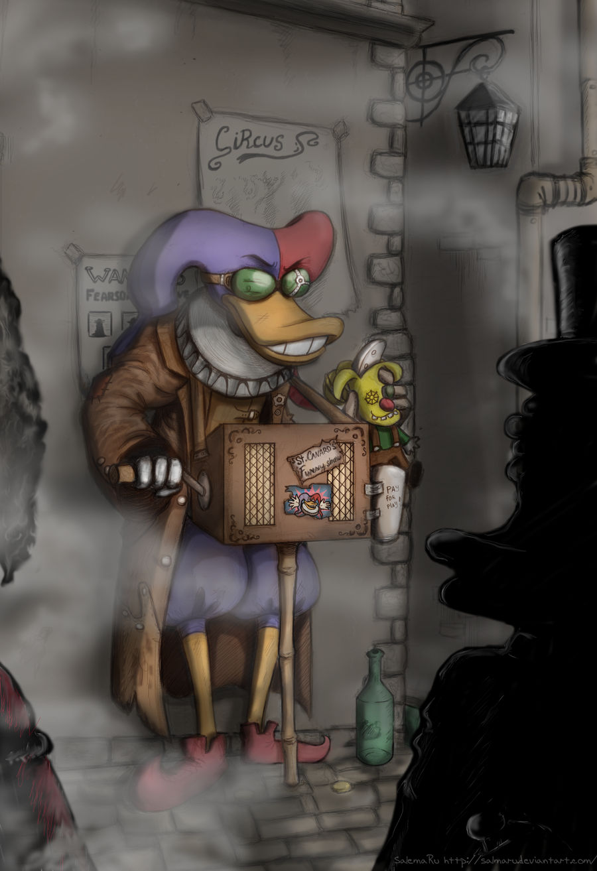 Organ grinder by SalmaRU
