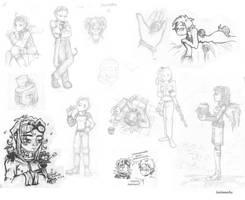 3Haus sketches by SalmaRU