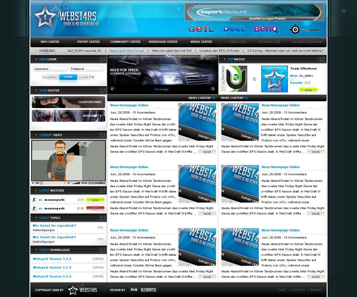 Webst4rs by tondowebmedia