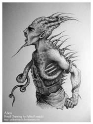 Alien by pablorenauld