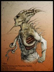 Alien 03 by pablorenauld