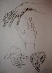 Hand study I by zzSnowWhiteQueenzz