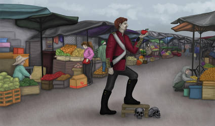 Market Theater. Hamlet by zzSnowWhiteQueenzz