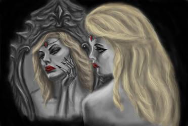 Evil Queen - The Snow White Queen by zzSnowWhiteQueenzz