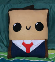 10th Doctor Pillow by TheJunkShoppe