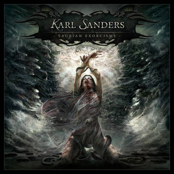 Karl Sanders 2nd LP cover by xaay