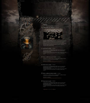 Website of Trauma 2nd ver by xaay