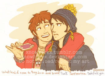 In Which Clyde Eats Craig's Toast And Makes Puns by xNoWherex