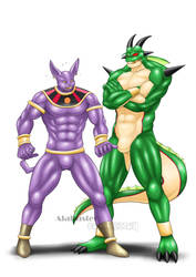 Trapping in Suits - Champa and Porunga by St-Alpha