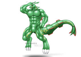 Rayquaza Suit - TF 2/2 by St-Alpha