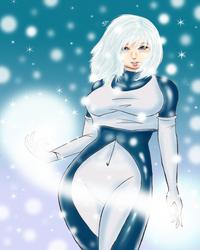 DC Comics: Ice - Tora by Locke3K