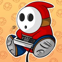 Shy guy by Locke3K