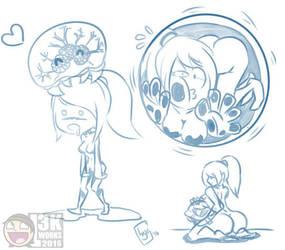 Samus Doodles by Locke3K