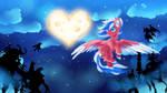 Raffle Price: Flaming Spark by BlazeMizu