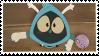 Jojo and Pupuce Stamp by WishingStarInAJar