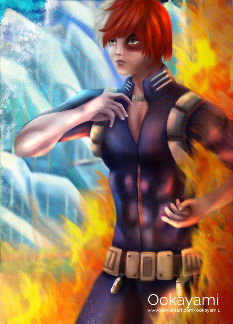 Todoroki - My Hero Academia by Ookayami1