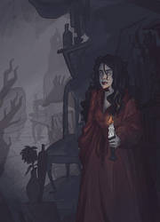 Lady Fuchsia's Attic by efercussie