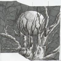 lunar landscape by freesoul93
