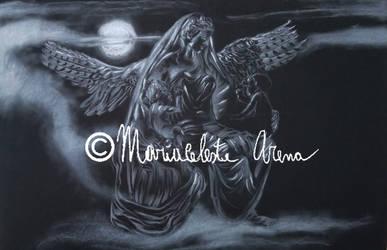 Nyx goddess of night by freesoul93