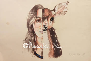 Self portrait by freesoul93